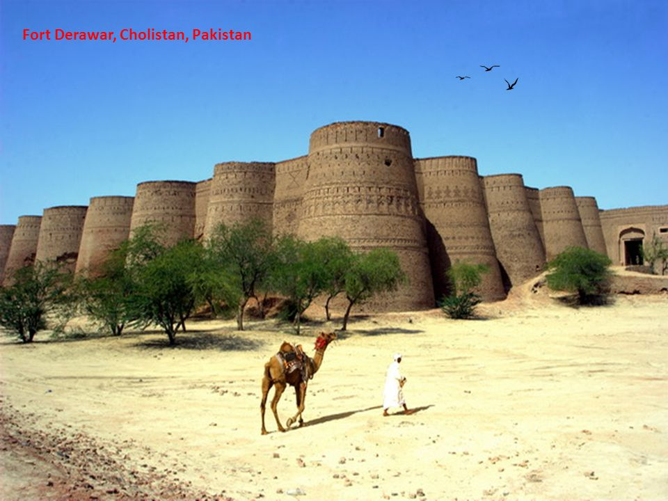 Fort Derawar, Cholistan, Pakistan