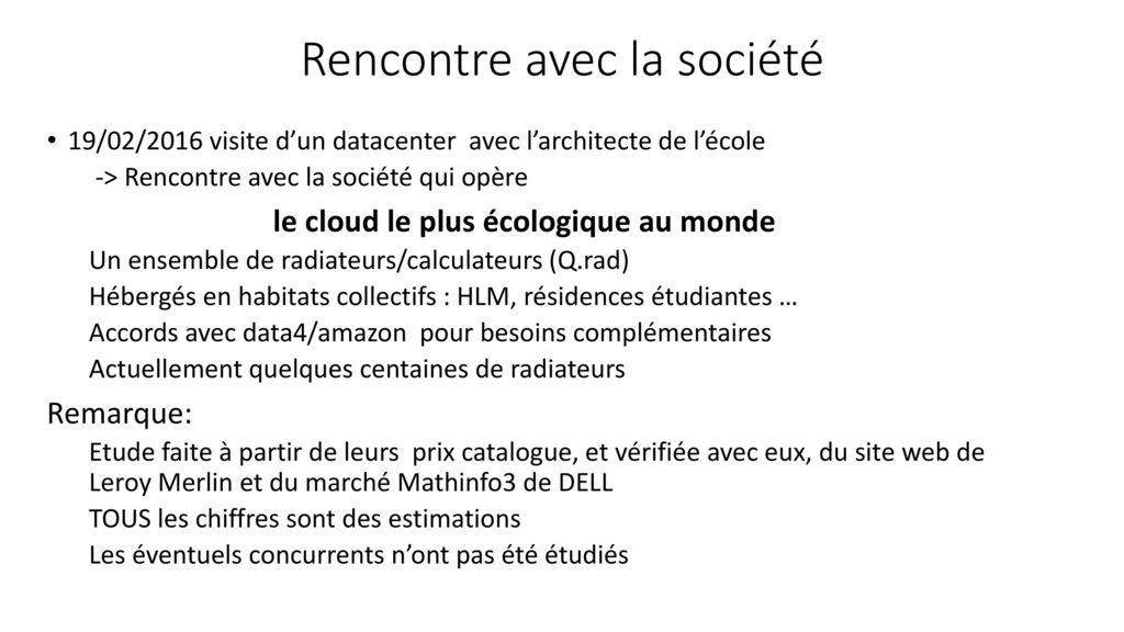 Estimation Du Coût Dutilisation De Cpu Dun Cloud Hébergé