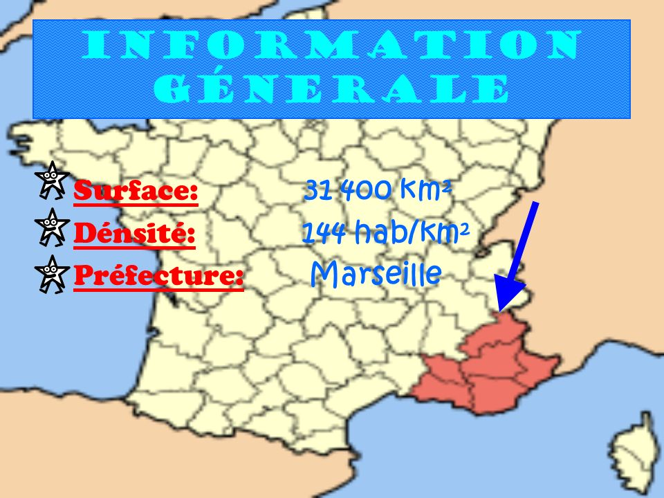 Information génerale Surface: km² Dénsité: 144 hab/km²