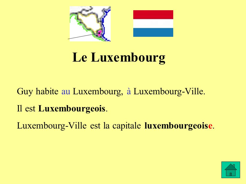 Le Luxembourg Guy habite au Luxembourg, à Luxembourg-Ville.