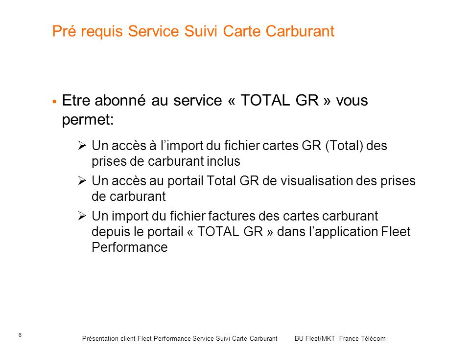 fleet performance service suivi carte carburant ppt video online t l charger. Black Bedroom Furniture Sets. Home Design Ideas