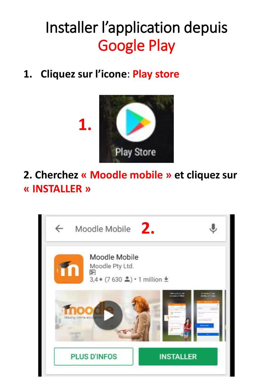 Installer l'application depuis Google Play - ppt télécharger