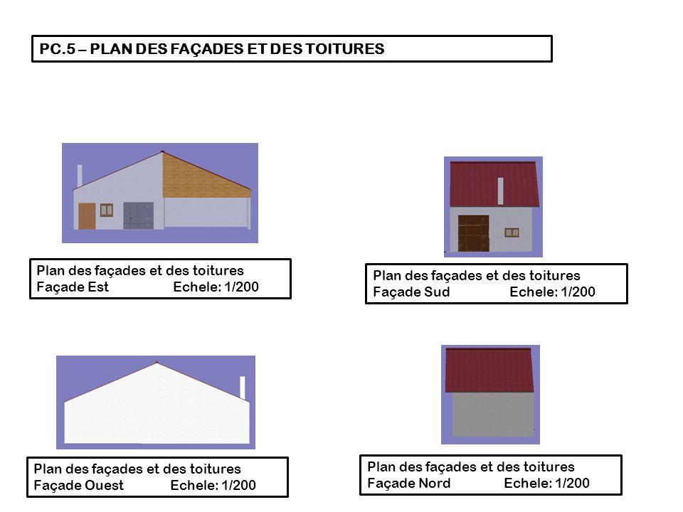 pc 3 plan en coupe cot est echele 1 ppt t l charger. Black Bedroom Furniture Sets. Home Design Ideas