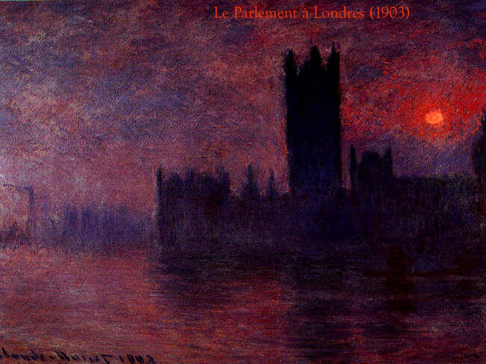 Le Parlement à Londres (1903)