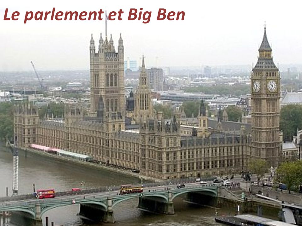 Le parlement et Big Ben