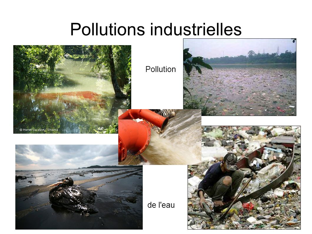 Pollutions industrielles