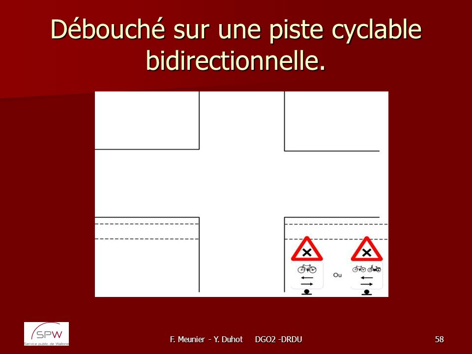 dimension piste cyclable