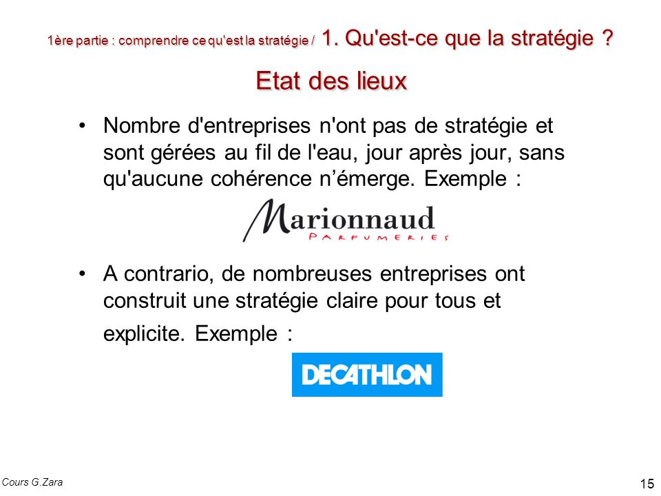 Strategie D Entreprise Et Ppt Video Online Telecharger