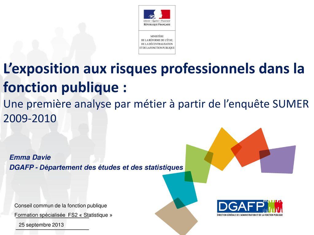 Emma Davie Dgafp Departement Des Etudes Et Des