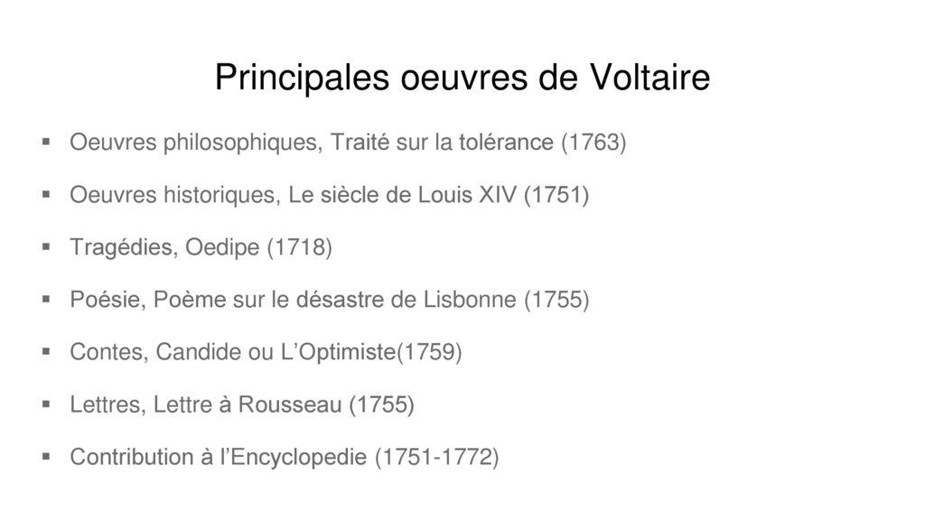 Voltaire Par Shelove Et Marie Ppt Télécharger