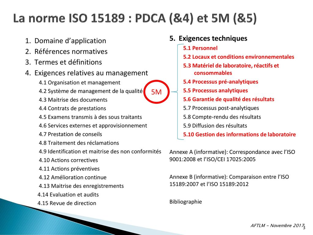 NORME 15189 LA TÉLÉCHARGER ISO