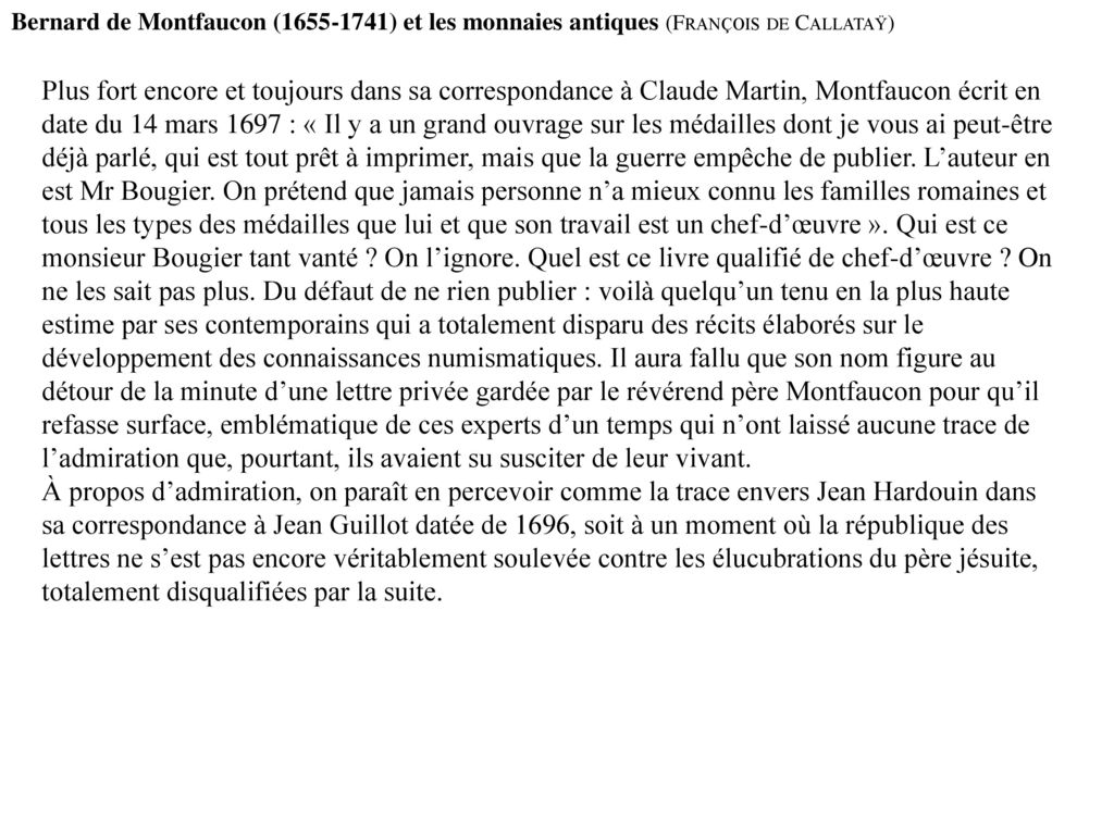 Mangeart, Thomas; Montfaucon, Bernard de: Introduction A La