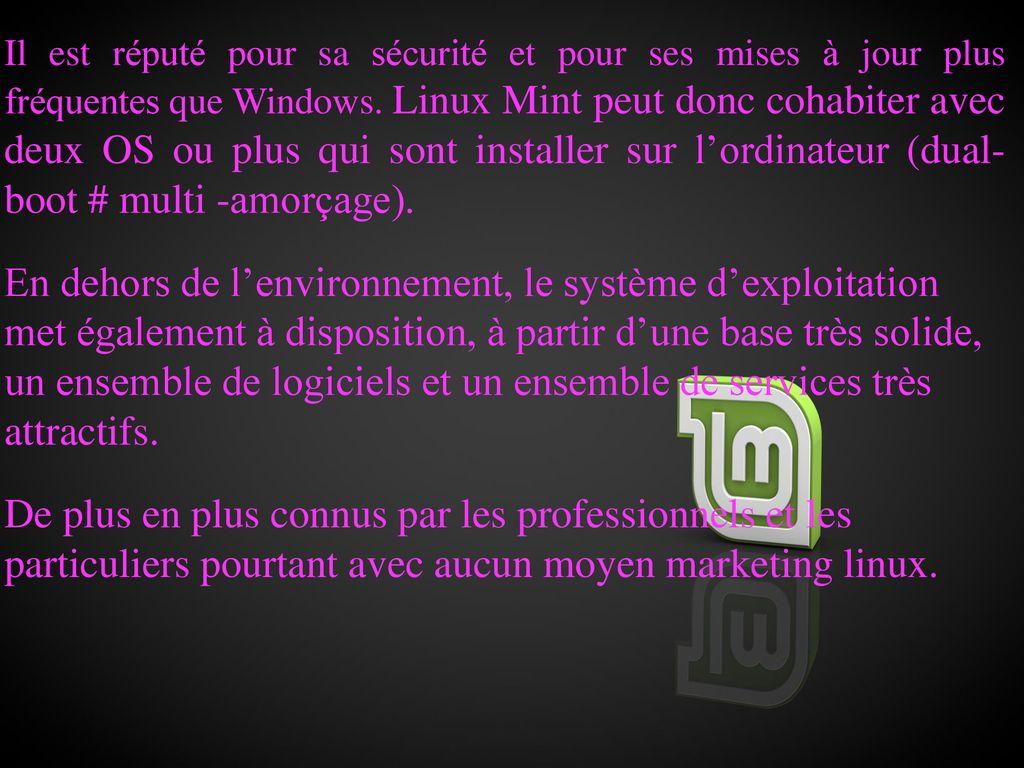 sneakers for cheap quality products sale uk Présentation Linux Mint « 18.2 Sonya » - ppt télécharger