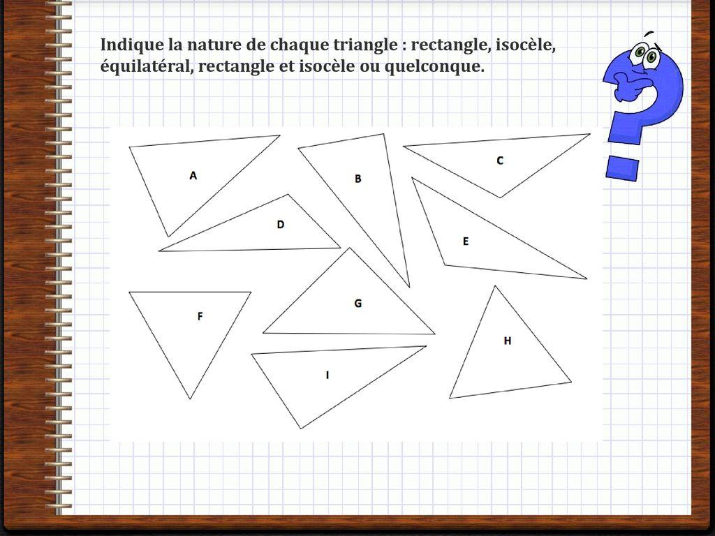 Nature De Triangle
