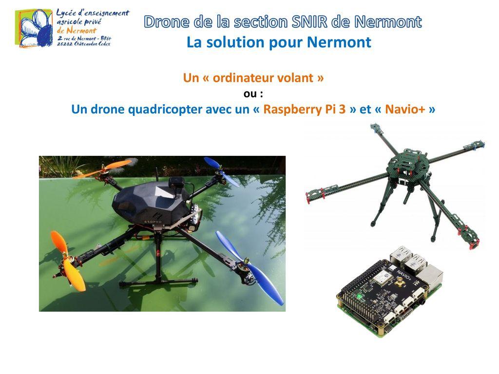 achat drone interieur