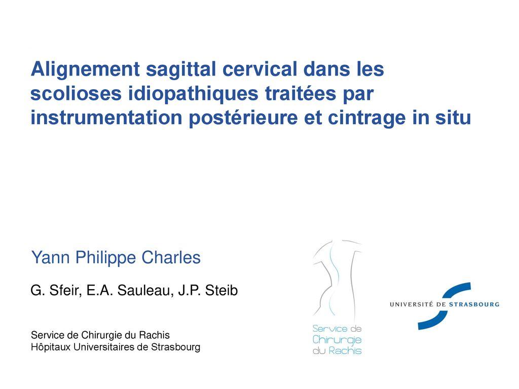 Alignement sagittal cervical dans les scolioses idiopathiques