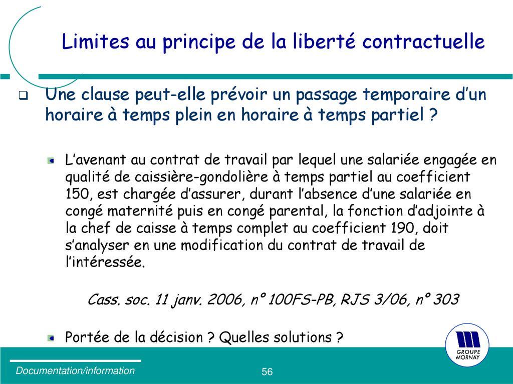 Formation Et Modification Du Contrat De Travail Les Pieges A