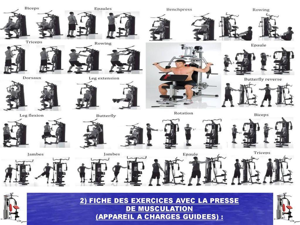 Dossier Des Exercices Avec La Presse De Musculation Ppt Télécharger
