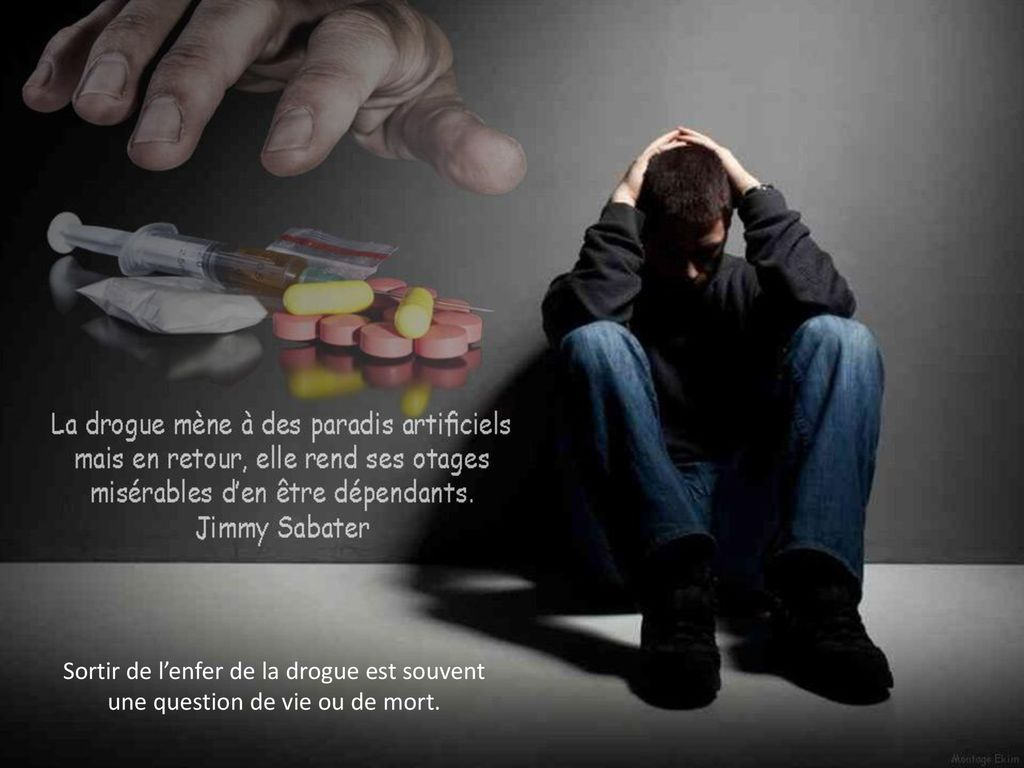 Sortir de l'enfer de la drogue est souvent une question de vie ou de mort.