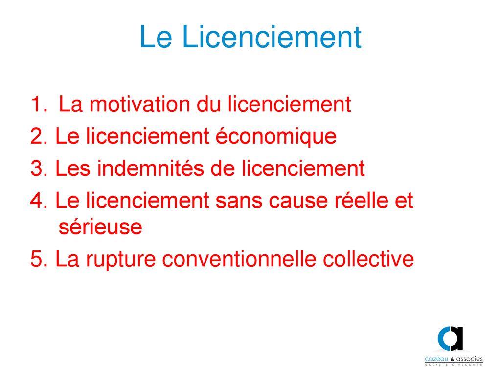 Atelier Droit Social Nathalie Cazeau Cazeau Et Associes Ppt