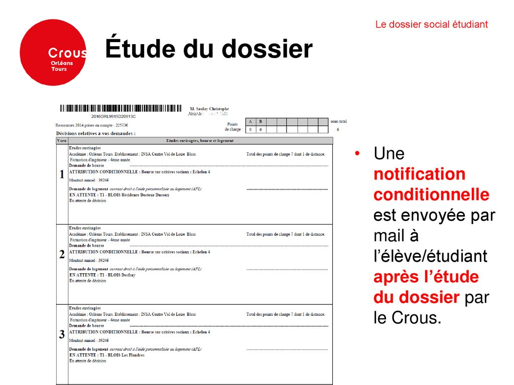 BOURSE DE TÉLÉCHARGER CONDITIONNELLE NOTIFICATION