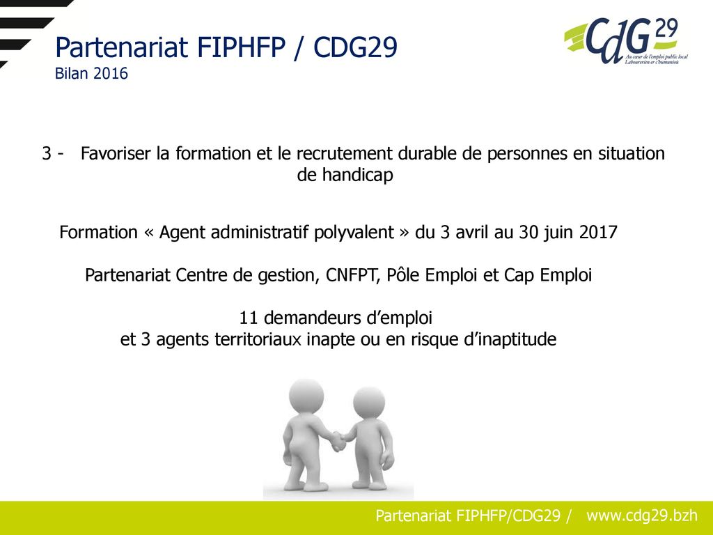 Partenariat Fiphfp Cdg29 Convention N 3 2016 Ppt Telecharger