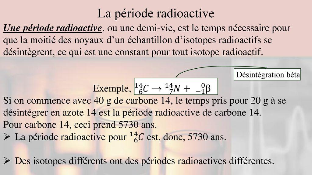 laboratoire de datation radioisotope datant d'un homme séparé chrétien
