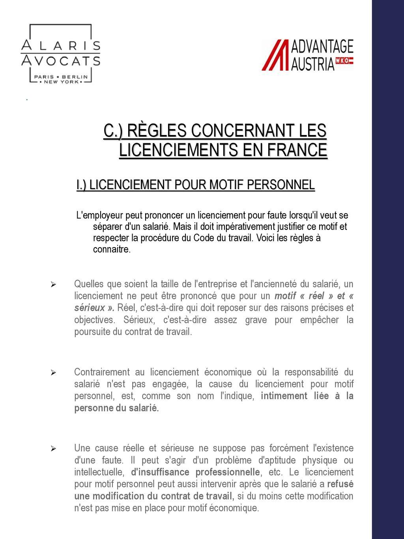 c440392b54d Droit du Travail en France - - ppt télécharger