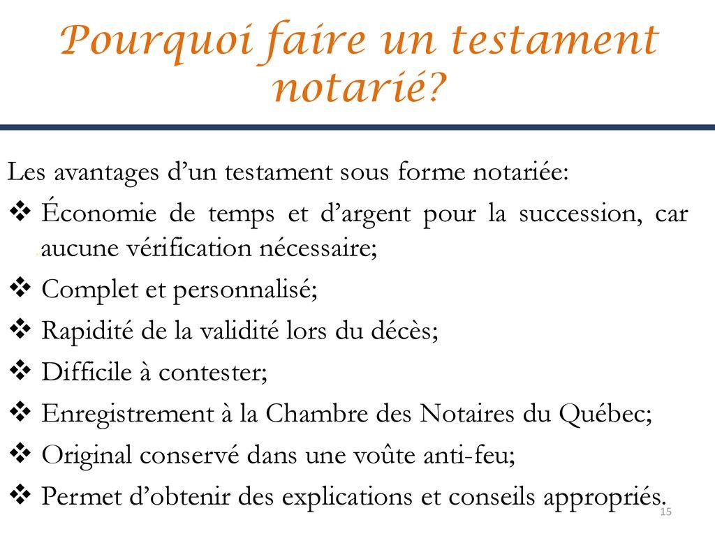 Testaments Mandats De Protection Directives Medicales Anticipees