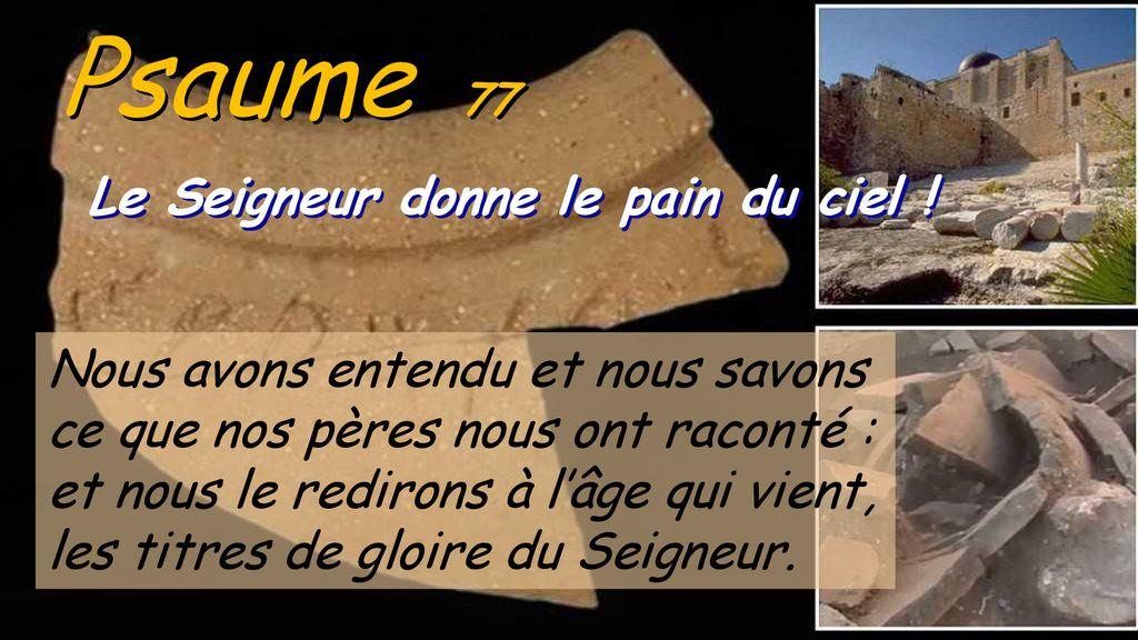Dix-huitième Dimanche - ppt télécharger