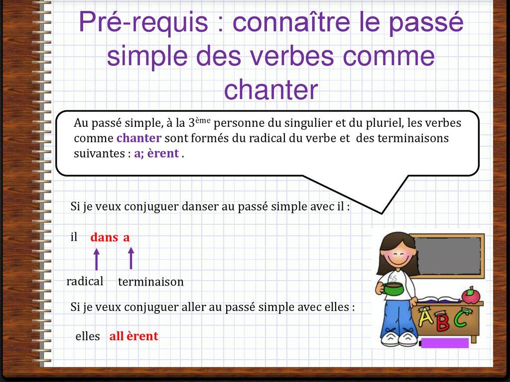 Conjuguer Au Passe Simple Les Verbes Frequents Irreguliers Ppt Telecharger