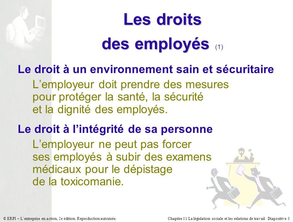6a4b829edd0 La législation sociale et les relations de travail - ppt video ...