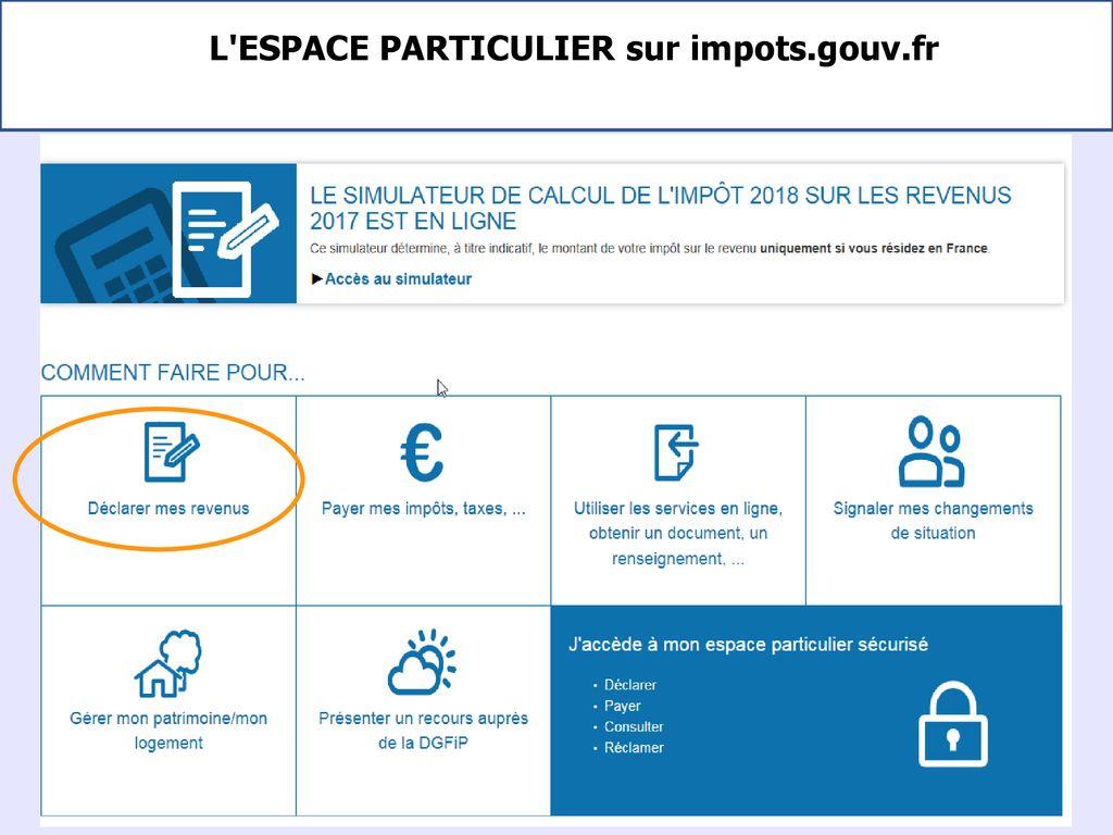 La Campagne De Declaration De L Impot Sur Le Revenu Ppt Telecharger