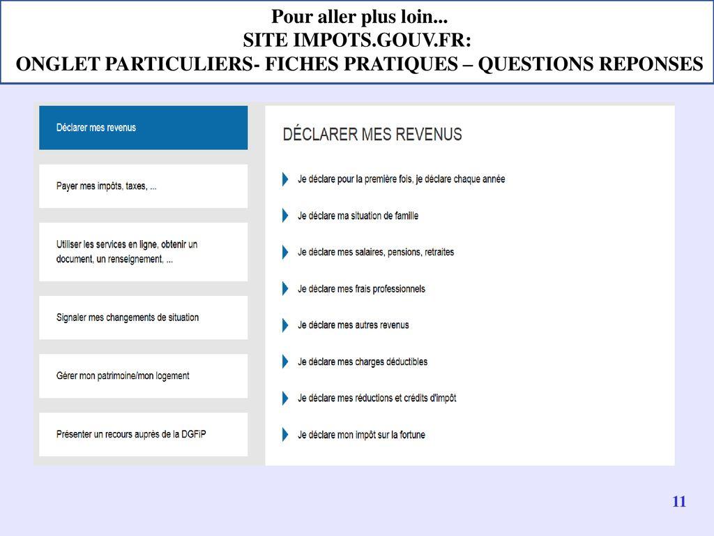 La Campagne De Declaration De L Impot Sur Le Revenu Ppt