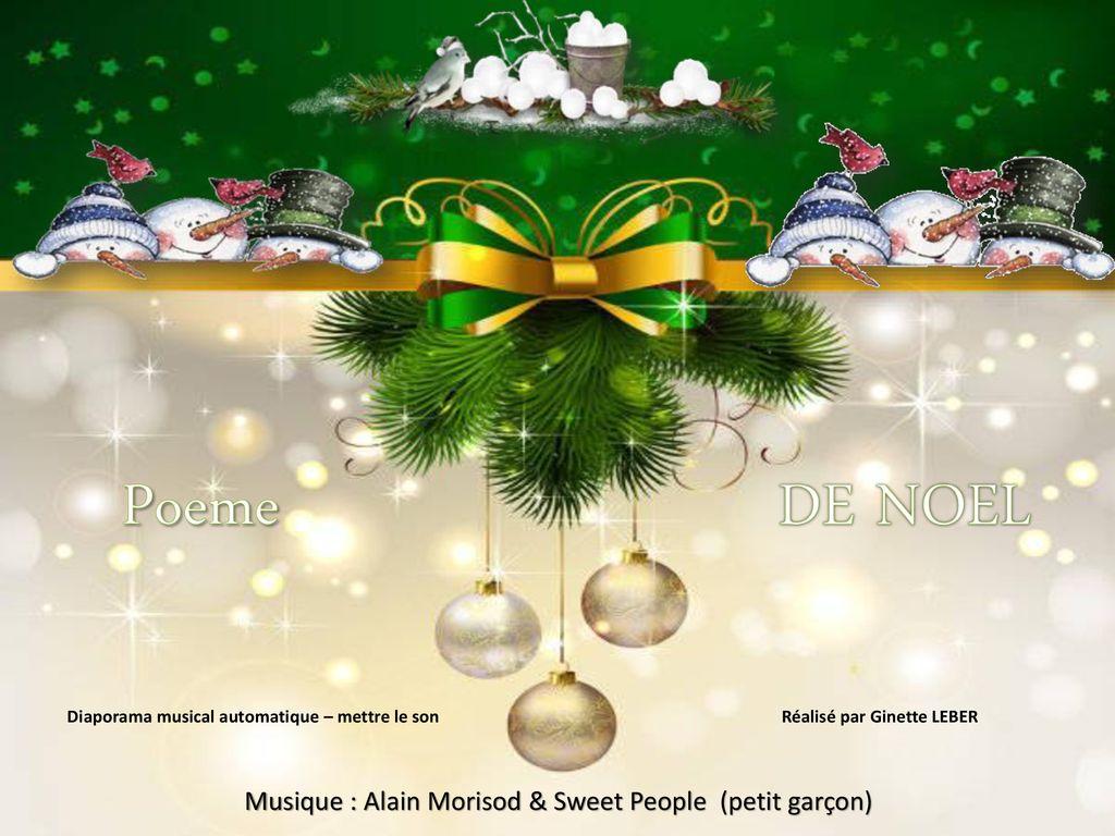 Poeme De Noel Musique Alain Morisod Sweet People Petit