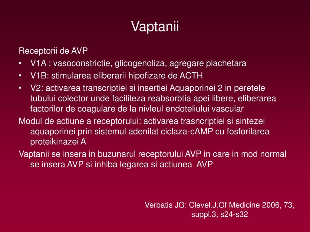 Verbatis JG: Clevel.J.Of Medicine 2006, 73, suppl.3, s24-s32