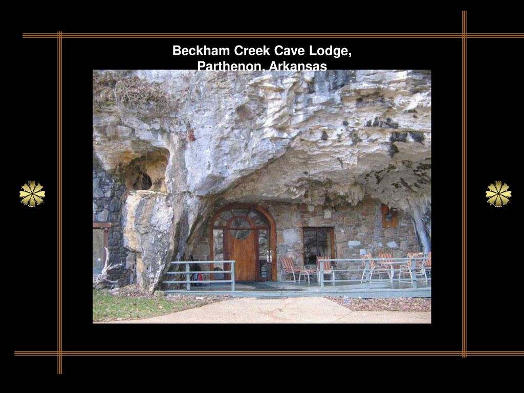 Beckham Creek Cave Lodge, Parthenon, Arkansas