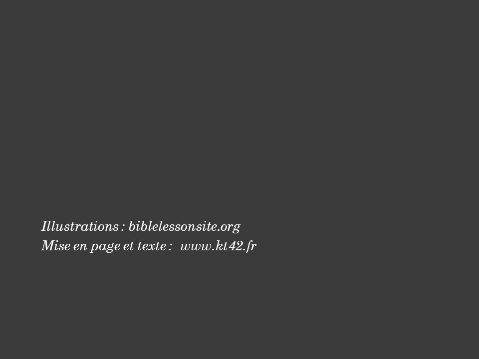 Illustrations : biblelessonsite.org