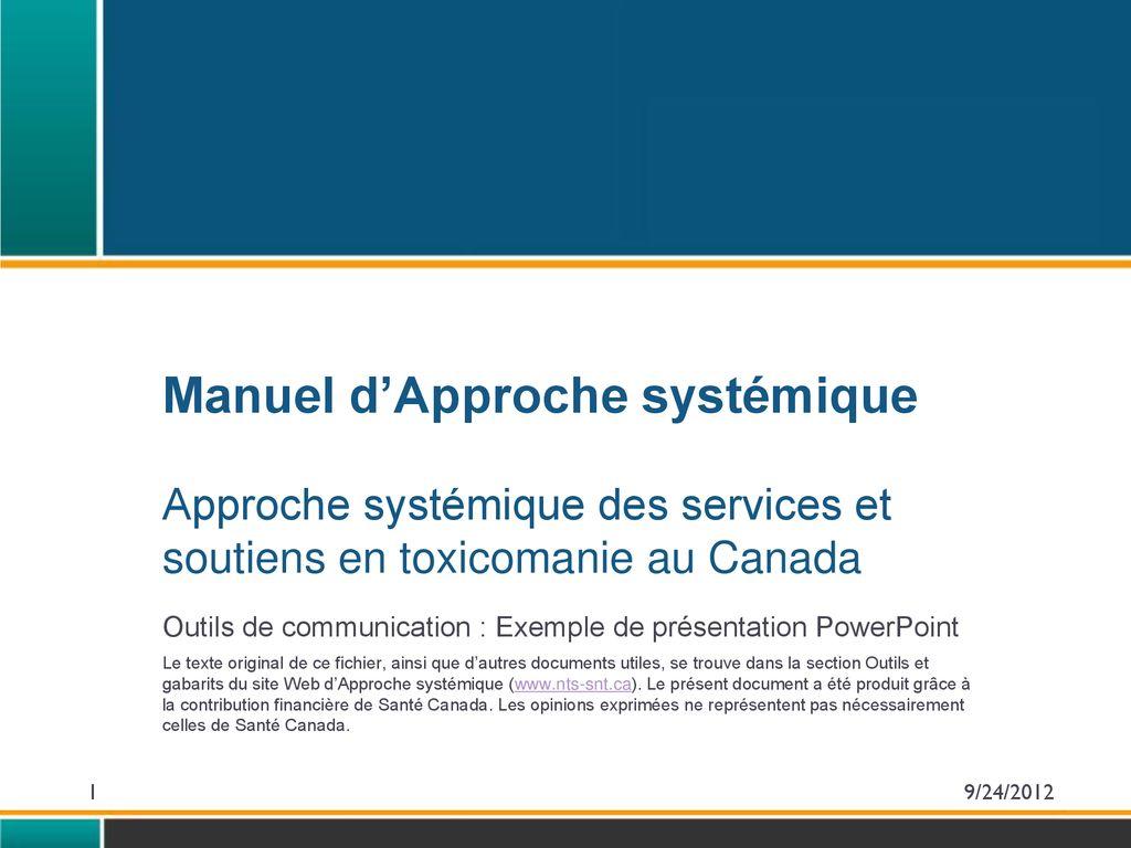 Outils De Communication Exemple De Présentation Powerpoint