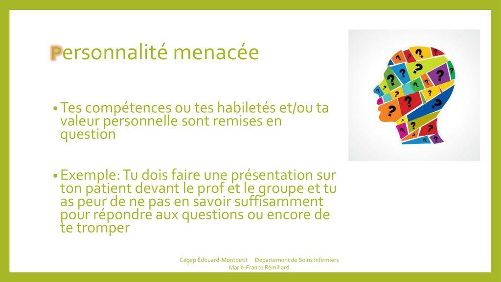 Atelier 1 Cégep édouard Montpetit Département De Soins