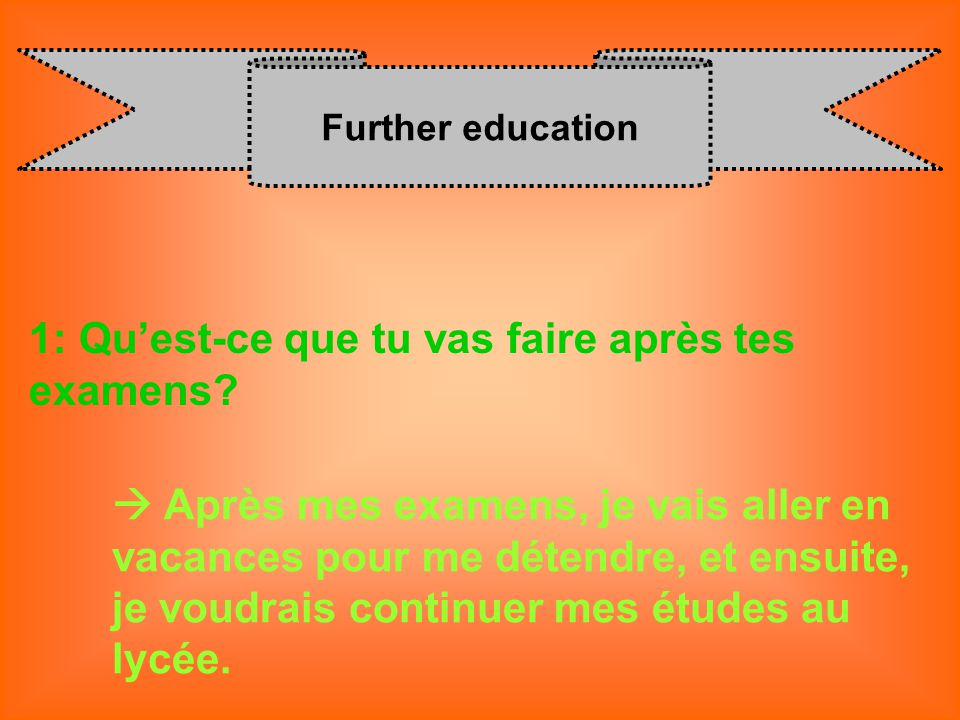 22113afec6d GCSE FRENCH SPEAKING EXAM TOPIC QUESTIONS. - ppt video online ...