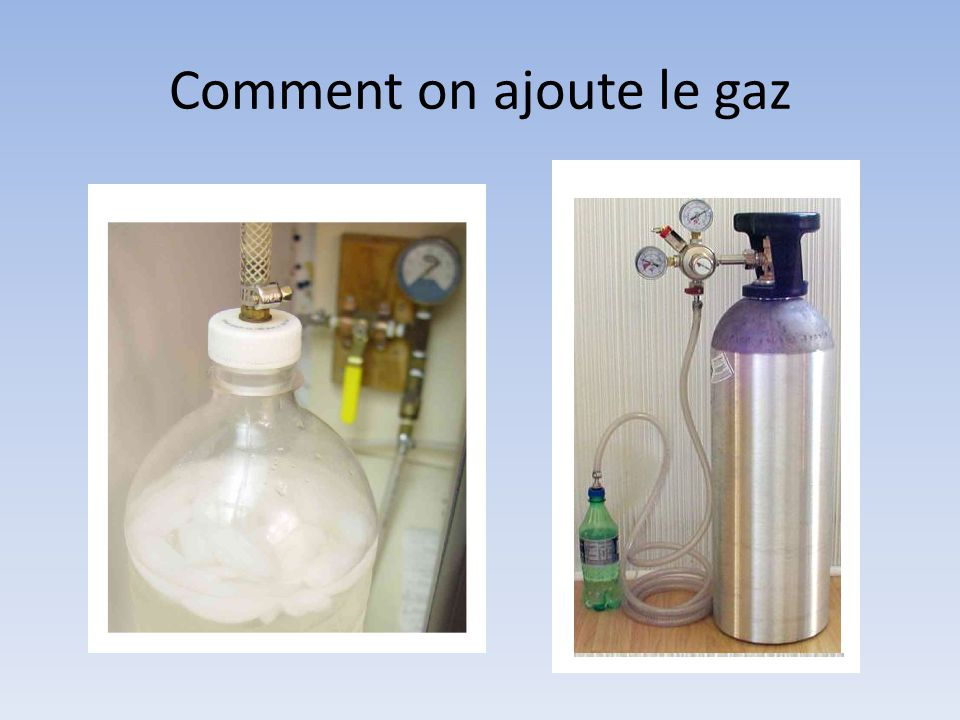 Comment on ajoute le gaz