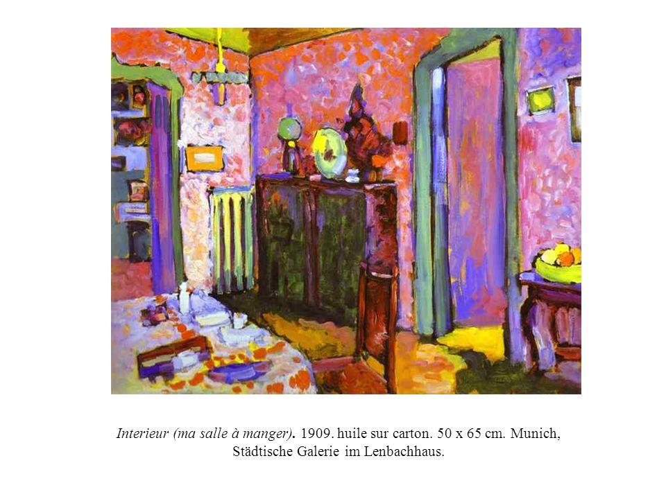 Wassily Kandinsky 1866 1944 Paysage A La Tour 1908 75 5 X 99 5