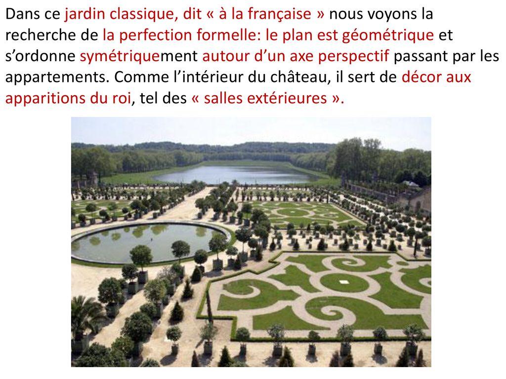 Jardin Classique À La Française l'art de la période baroque - ppt télécharger