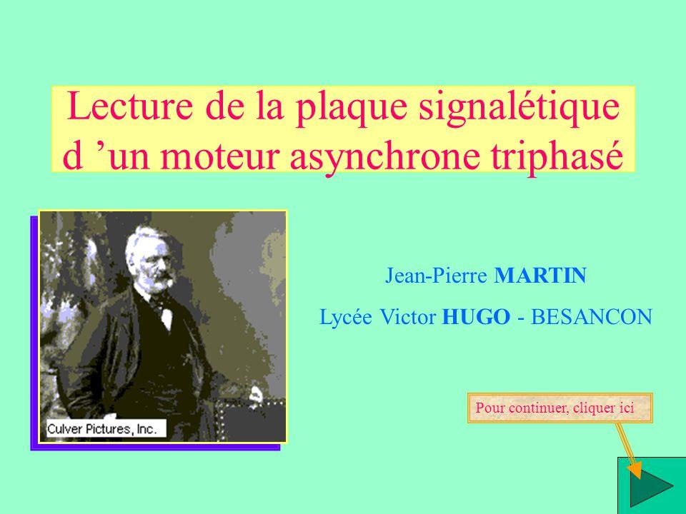 Lecture De La Plaque Signaletique D Un Moteur Asynchrone Triphase
