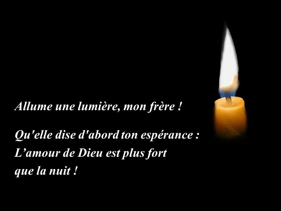 Allume Une Lumière Daprès Un Texte De Jm Bedez Ppt