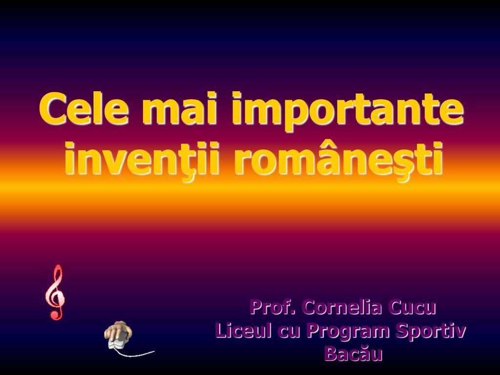 Inventatori romani si inventiile lor ppt