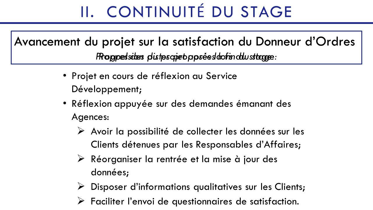 Le Stage Decouverte Comment Optimiser La Satisfaction Client Ppt