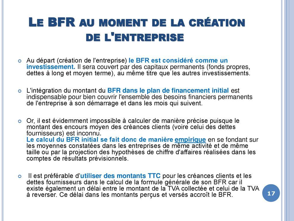 Batir Mon Business Plan Journee 2 Plan De Financement Initial Besoin