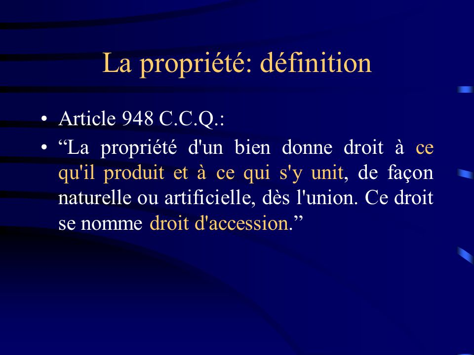 Les Demembrements Innommes De La Propriete Et La Doctrine Du Numerus